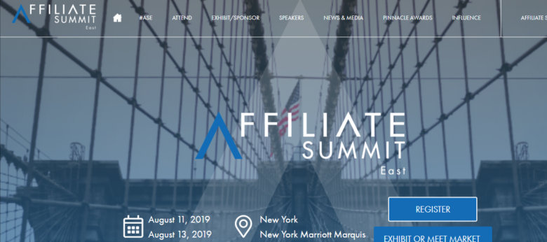 Affiliate Summit East Event 2019