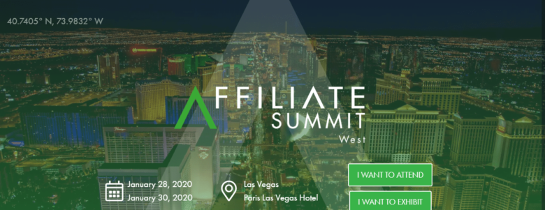 Affiliate Summit West event 2019
