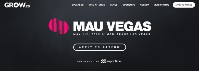MAU Vegas Event 2019
