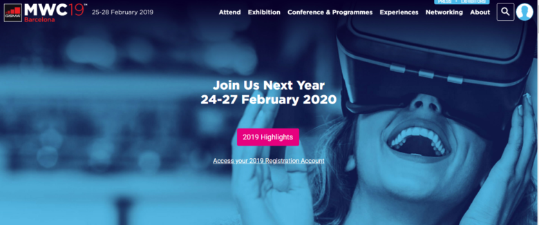Mobile World Congress Event 2019
